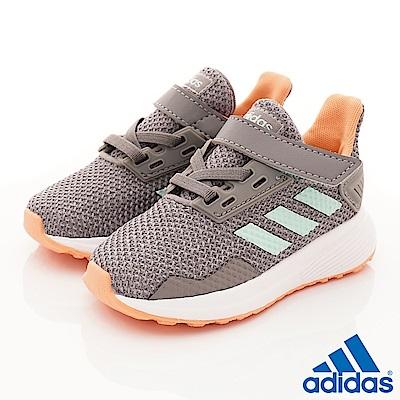 adidas童鞋Duramo慢跑款ZE825灰寶寶段