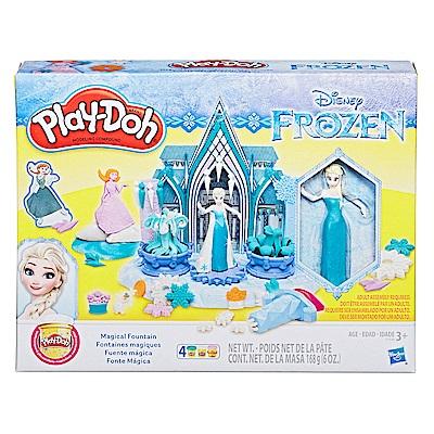 培樂多Play-Doh 創意DIY黏土 迪士尼 冰雪奇緣 噴水池 E1938
