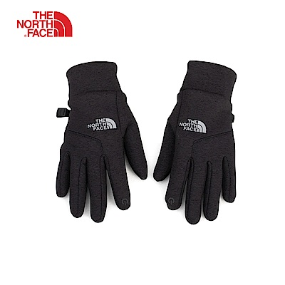The North Face北面黑色舒適保暖可觸屏手套|3KPTKS7