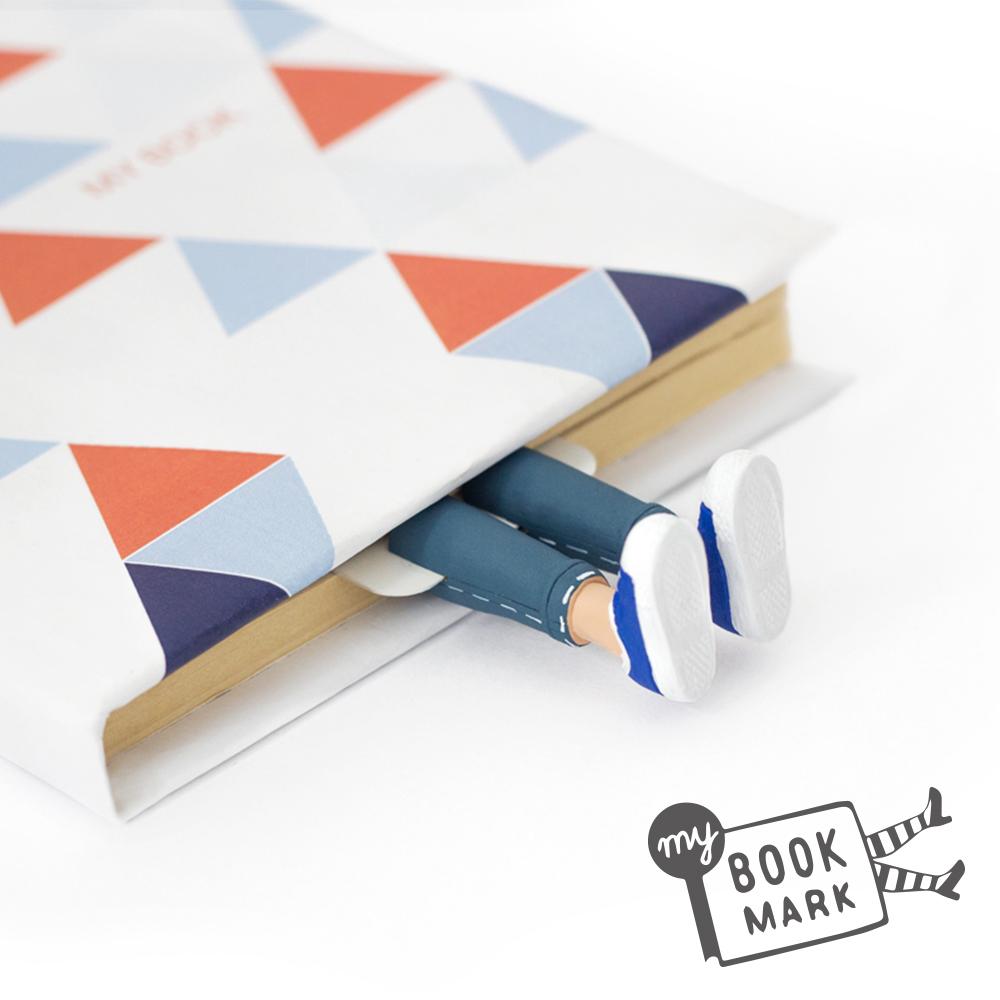 烏克蘭myBookmark-牛仔褲男孩的書籤