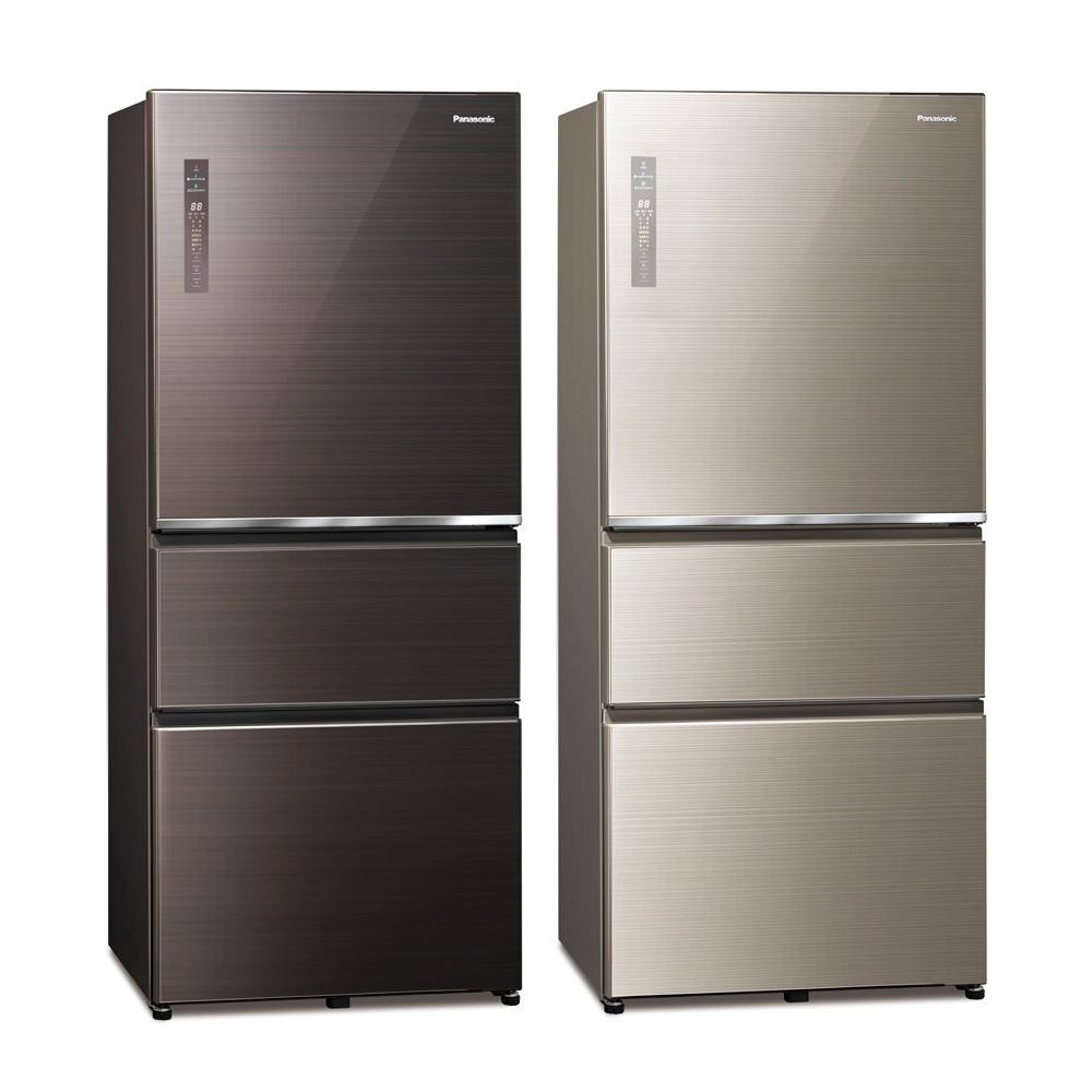 Panasonic國際牌 610公升 無邊框玻璃系列變頻四門電冰箱 NR-D611XGS product image 1