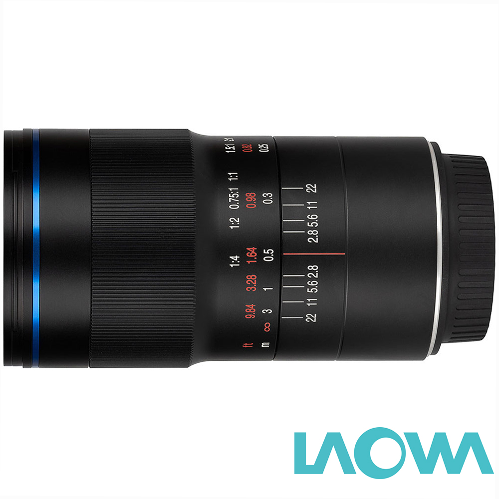 LAOWA 老蛙 100mm F2.8 Macro 2x微距鏡頭 公司貨
