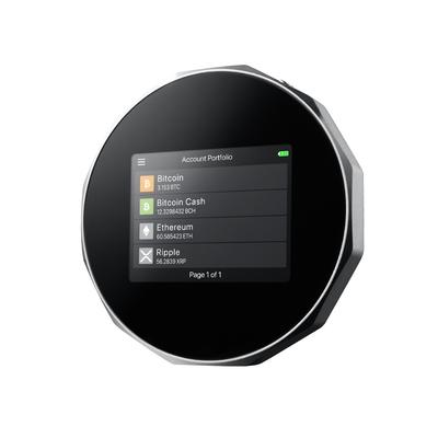 安瀚科技 SecuX V20 加密貨幣硬體錢包 (英飛凌安全晶片 藍芽 觸控彩色螢幕 比特幣 以太幣 虛擬貨幣 冷錢包)