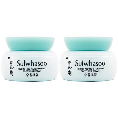 (即期品)Sulwhasoo雪花秀 水律拉提乳霜5ml*2(效期2019年03月)