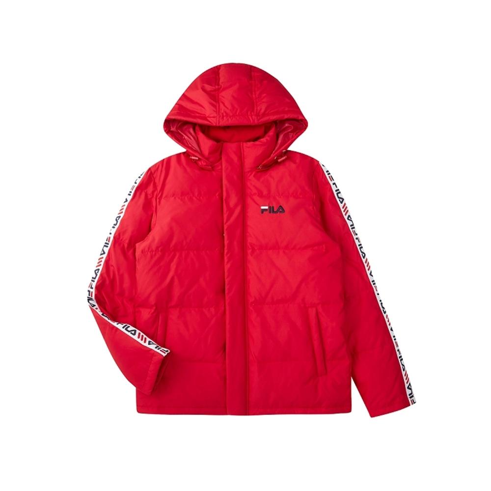 FILA 羽絨外套-紅色 1JKU-5470-RD