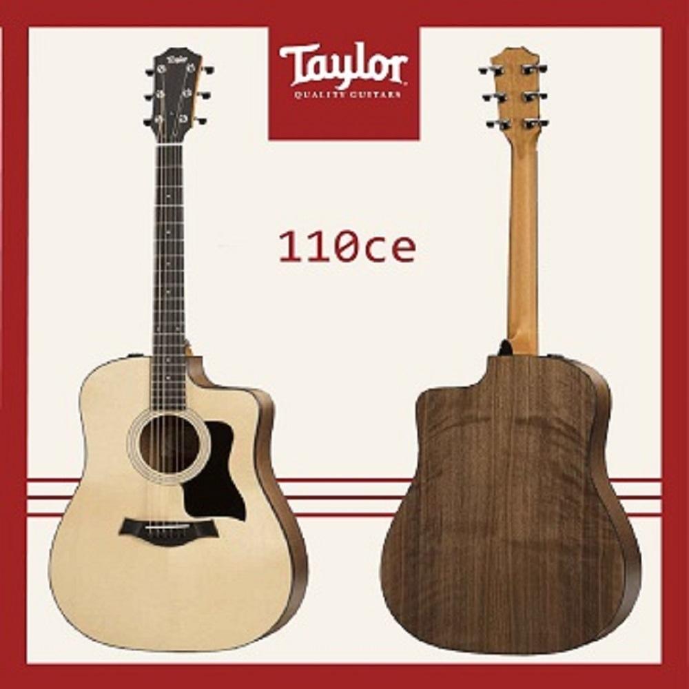 Taylor 110CE 電木吉他 / 民謠吉他 /公司貨