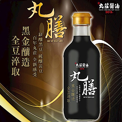 丸莊‧丸膳純釀醬油(300ml/盒,共二盒)