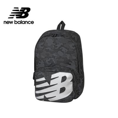 【New Balance】大LOGO後背包_中性_黑色_BG01009GCMO