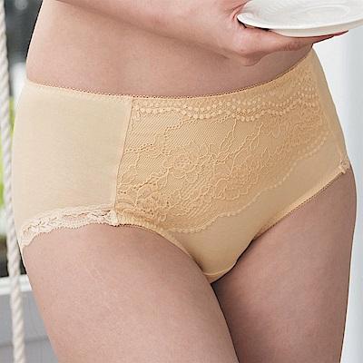 金華歌爾-寵愛英倫系列 M-3L 中腰三角褲(黃)包臀透氣
