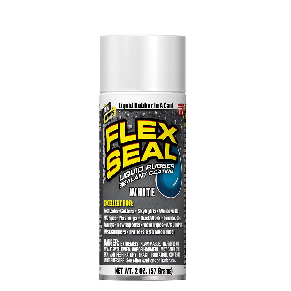 美國FLEX SEAL 萬用止漏劑 迷你- 亮白色(噴劑型)