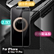 Xmart for iPhone X / iPhone Xs / iPhone 11 Pro 防偷窺滿版2.5D鋼化玻璃保護貼-黑 product thumbnail 1