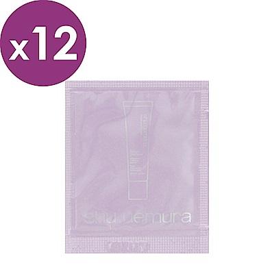 shu uemura植村秀 極保濕輕感防護乳(SPF50/PA+++)1ml*<b>12</b>-紫色
