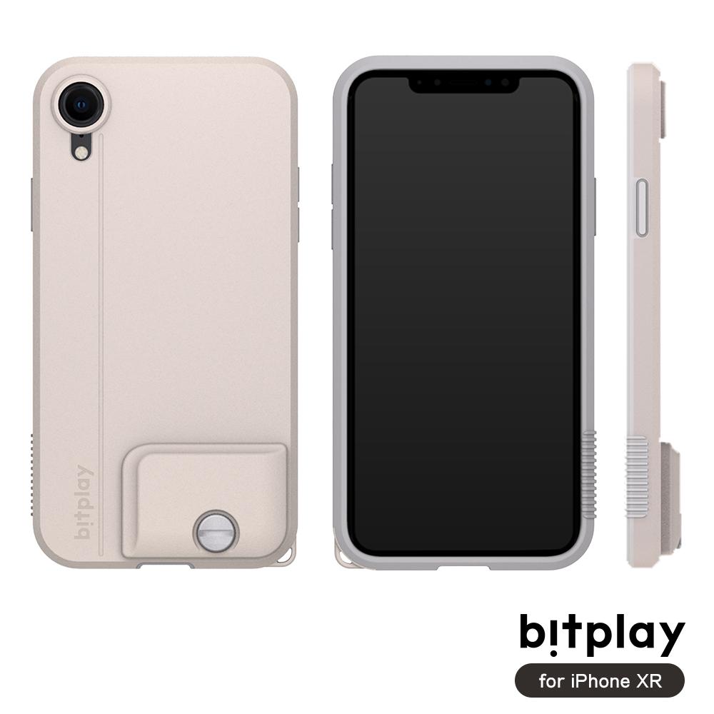 bitplay SNAP! iPhone XR專用 全包覆輕量防摔相機殼 拿鐵白