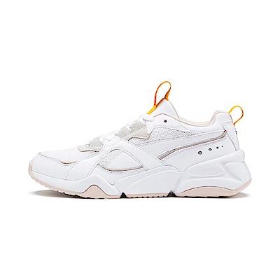 PUMA-Nova 2 Wn s 女性復古慢跑運動鞋-白色
