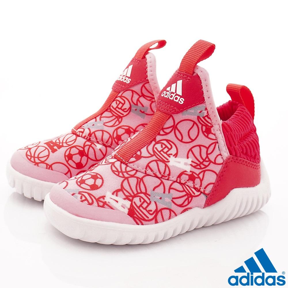 adidas童鞋 超輕量襪套式鞋款 NI6841桃粉(寶寶段) @ Y!購物