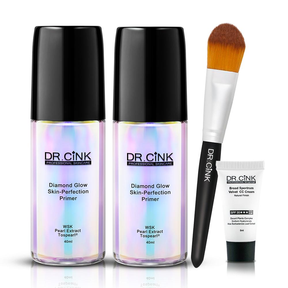 DR.CINK達特聖克 超進化鑽光雪肌妝前乳超值兩入組 @ Y!購物