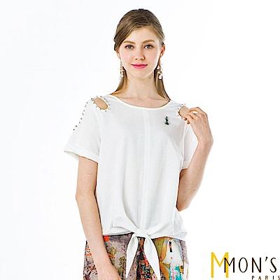 MONS 簡約透氣棉麻上衣