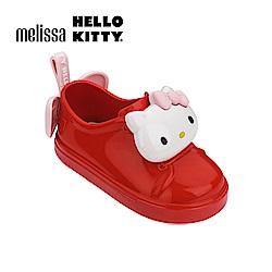 Melissa X HELLO KITTY 寶寶休閒鞋-紅色