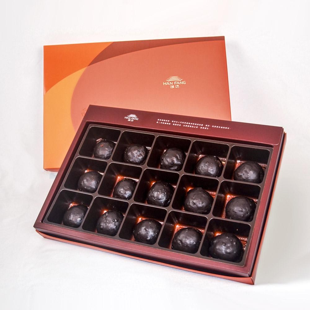 【漢坊月餅/糕餅】御點 水滴巧酥15入禮盒(蛋奶素)共2盒