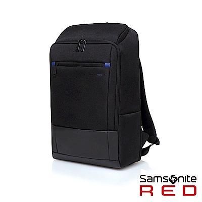 Samsonite RED BREDLE 輕量流行筆電後背包15.6(黑)
