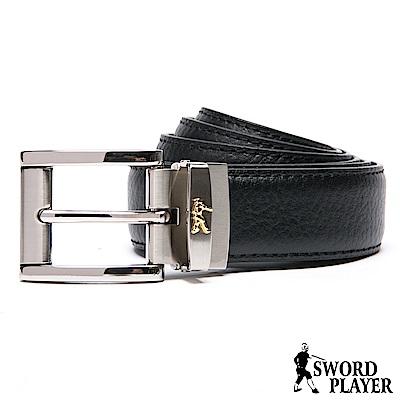 SWORD PLAYER - 莎普爾Fencing款皮革穿針式皮帶
