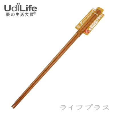 UdiLife品木屋和風原木長筷-40cm-6入組