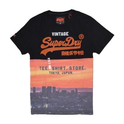 SUPERDRY 極度乾燥 男 T恤 黑色 1366