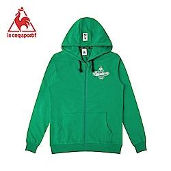 le coq sportif 法國公雞牌連帽外套 男-綠