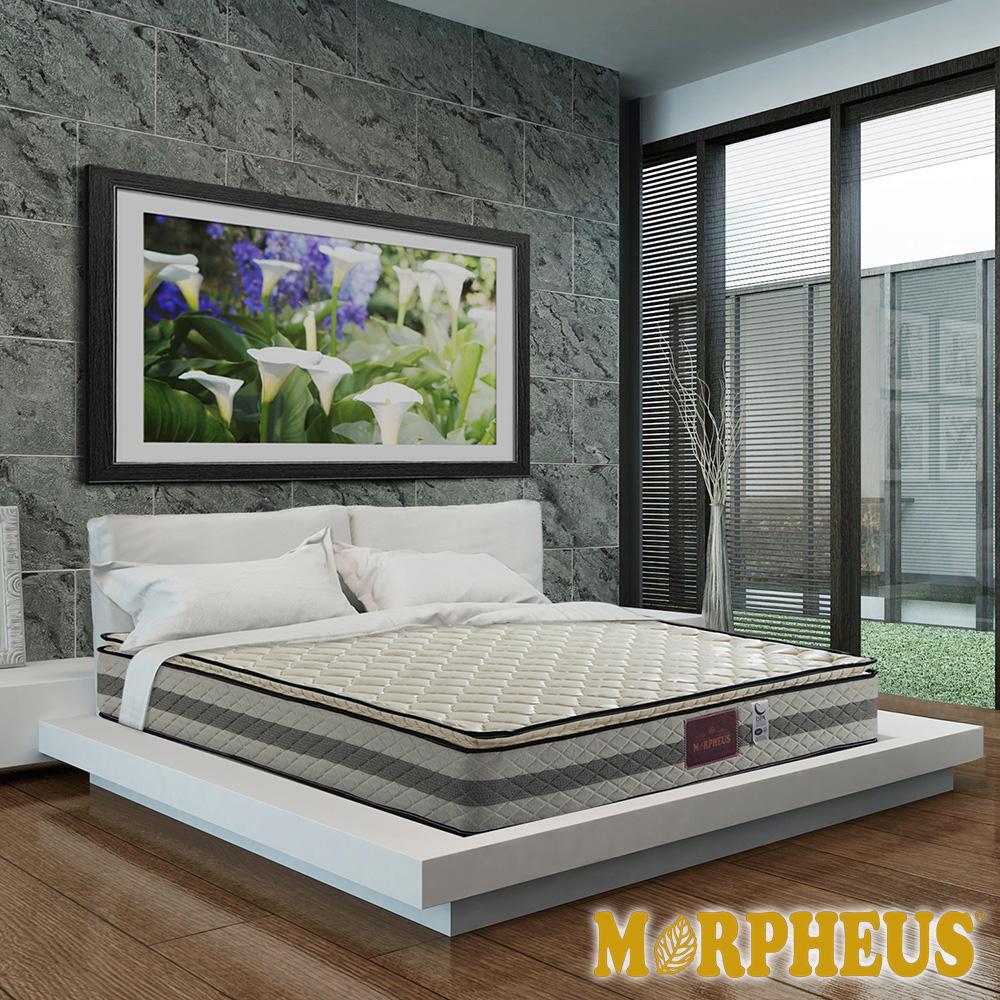 夢菲思 真三線防蹣抗菌蜂巢式獨立筒床墊-雙人加大6尺