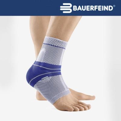 Bauerfeind 德國 頂級專業護具 MalleoTrain 運動護踝 灰藍 左