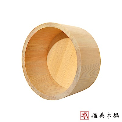 【雅典木桶】高級檜木 純手工 高10CM 無柄檜木水瓢/洗澡瓢