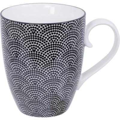 《Tokyo Design》瓷製馬克杯(扇點黑325ml)