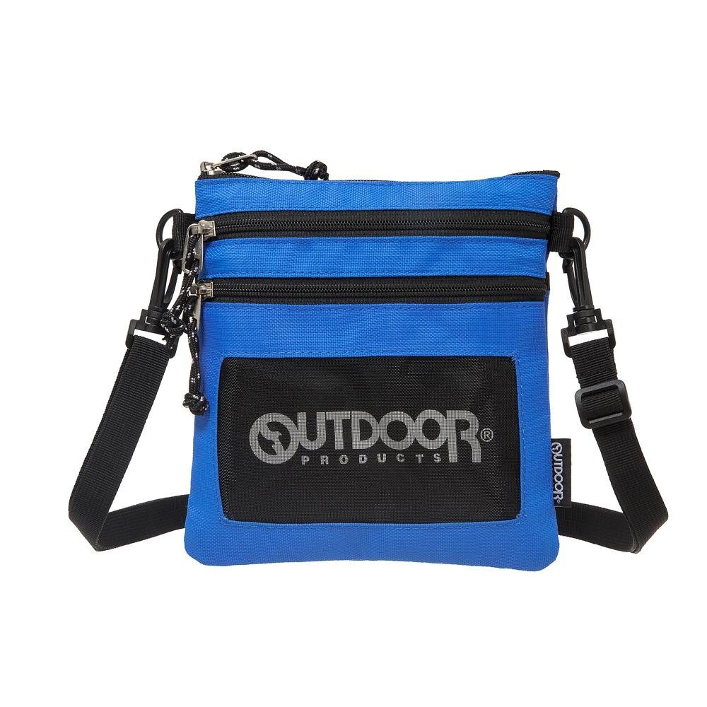 【OUTDOOR】旅遊配件-直式隨身包-藍色 ODS18L03BL