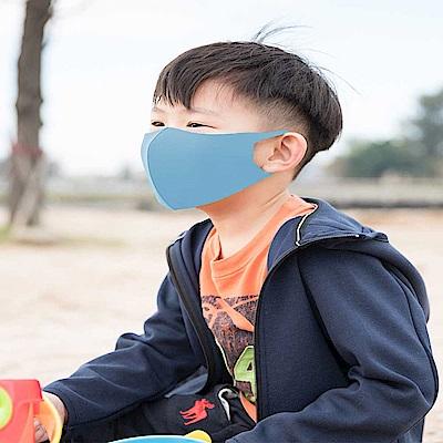 舒適美-3D立體透氣素色兒童口罩  3入組 (共2款可任選)