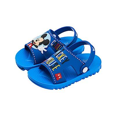 迪士尼童鞋 米奇 兩穿式防水涼鞋-藍