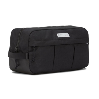 Nike 手提包 Academy Shoe Bag 鞋袋 運動休閒 健身 重訓 多夾層 黑 白 DC2648010