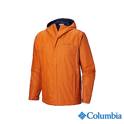 Columbia 哥倫比亞 男款-OT防水外套-橘色 URE24330OG