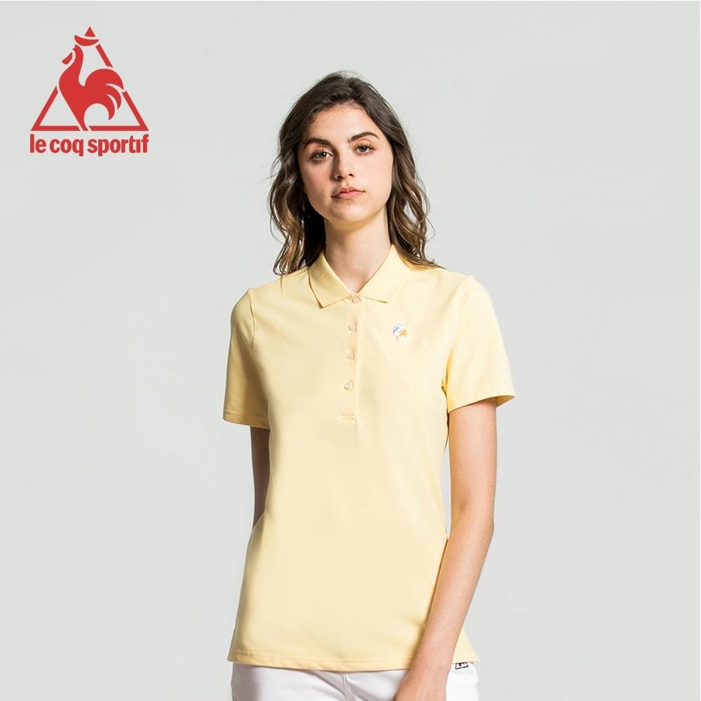 法國公雞牌短袖POLO衫 LWJ2314352-女-淡黃