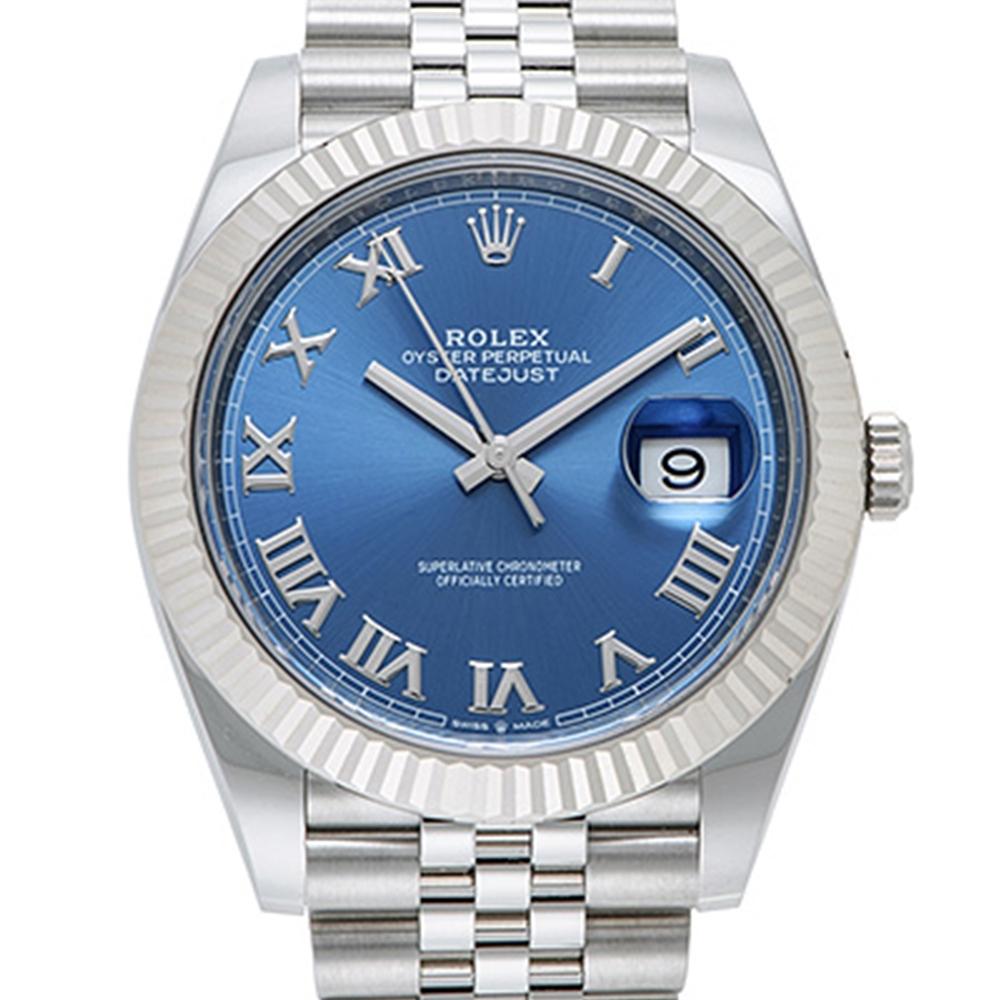 ROLEX 勞力士 Datejust 126334 日誌型機械腕錶x藍面羅馬x41mm