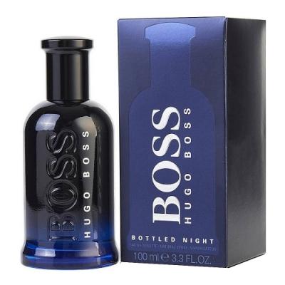 BOSS Bottled Night 自信之夜男性淡香水(夜自信)100ml(新包裝)