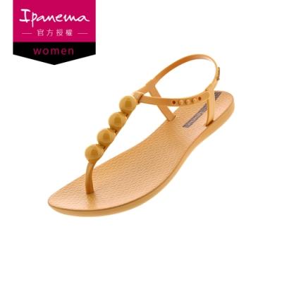 IPANEMA 巴西女星ANITTA代言款 T字涼鞋 黃