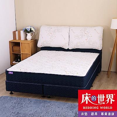 床的世界 BL5 天絲針織 雙人特大 獨立筒床墊/上墊 6×7尺