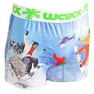WAXX極限滑雪設計款高質感吸濕排汗四角褲男內褲