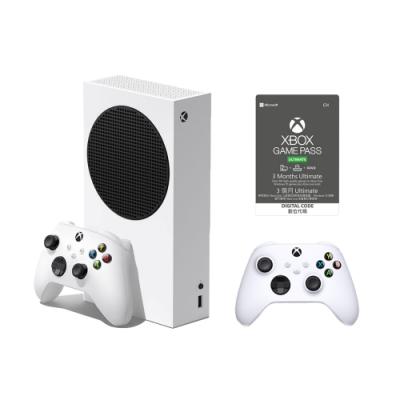 微軟Xbox Series S 512GB遊戲主機 + Game pass Ultimate 3個月 +手把一隻(同捆組)