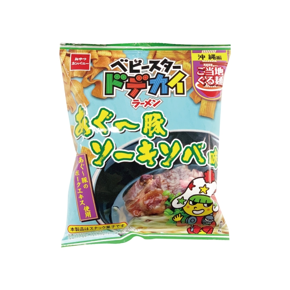OYATSU優雅食 點心條餅-沖繩阿古豬拉麵風味