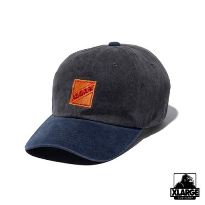 XLARGE PIGMENT CAP丹寧布棒球帽-灰