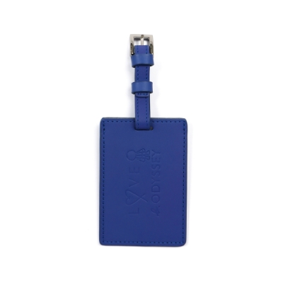 agnes b. 行李吊牌 / 悠遊卡夾(藍)