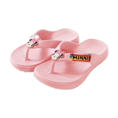 魔法Baby女童鞋 台灣製迪士尼米妮授權正版夾腳拖鞋sd3063
