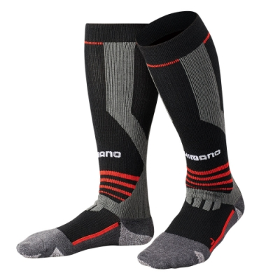 【SHIMANO】暖續力3D機能長統襪 全包式 SC-006Q