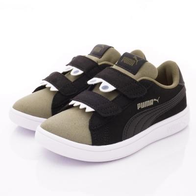 PUMA童鞋 MONSTER休閒鞋款 TH69680-04黑(中小童段)